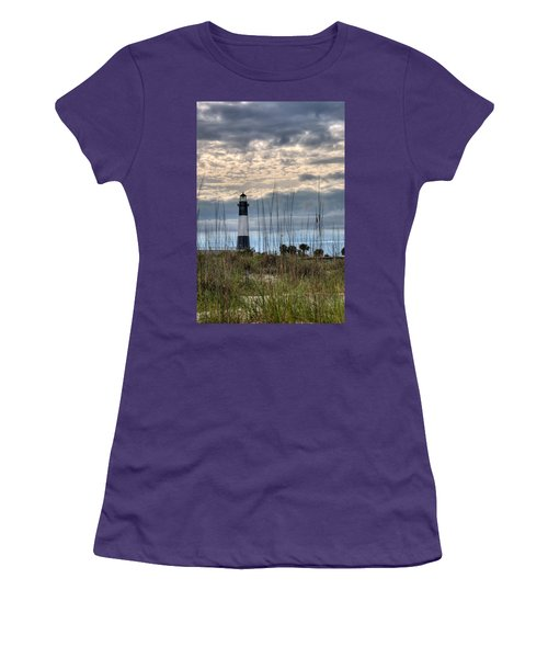 Tybee Light Women's T-Shirt (Athletic Fit)
