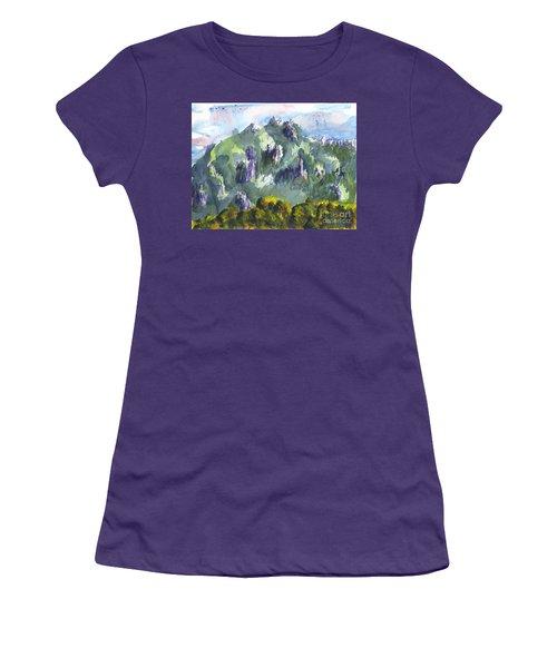 Uintah Highlands 1 Women's T-Shirt (Athletic Fit)