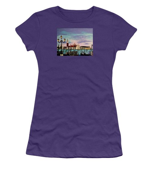 Venice  Italy By Jasna Gopic Women's T-Shirt (Junior Cut) by Jasna Gopic