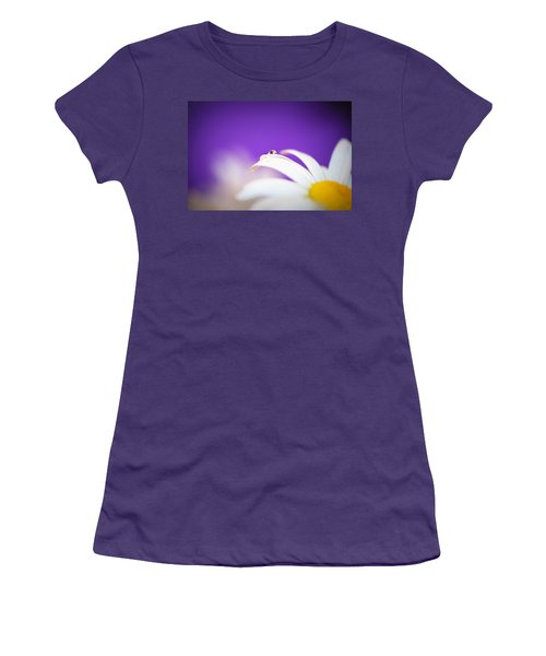 Violet Daisy Dreams Women's T-Shirt (Athletic Fit)