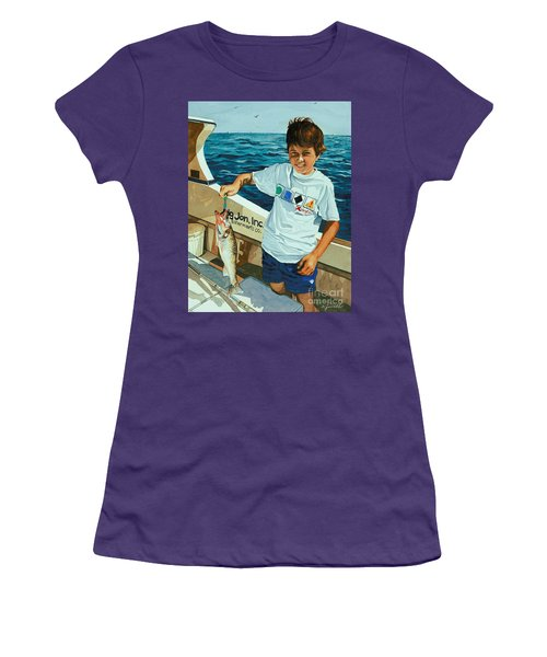 What A Catch Women's T-Shirt (Athletic Fit)