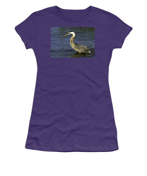 2 For 1 Dinner Special Women's T-Shirt (Junior Cut) by Clayton Bruster