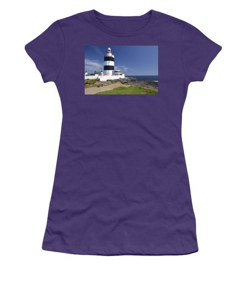 A Day At The Hook  Women's T-Shirt (Junior Cut) by Martina Fagan