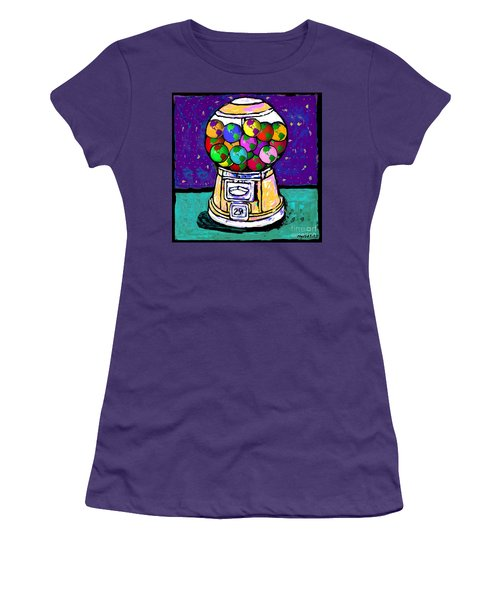A World Of Gumballs Women's T-Shirt (Athletic Fit)