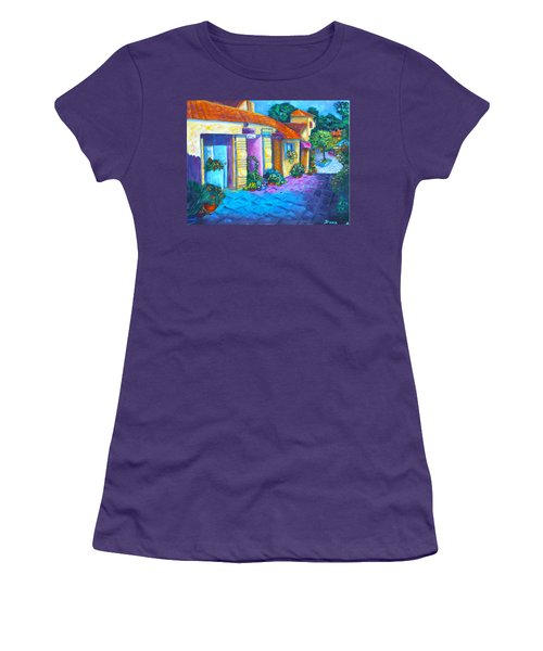 Artist Village Women's T-Shirt (Athletic Fit)