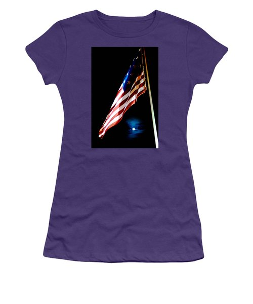 Flag On Federal Hill Women's T-Shirt (Athletic Fit)