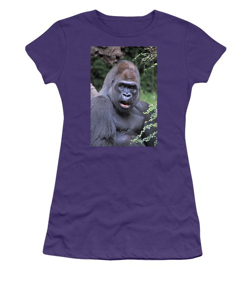 Gorilla Women's T-Shirt (Athletic Fit)