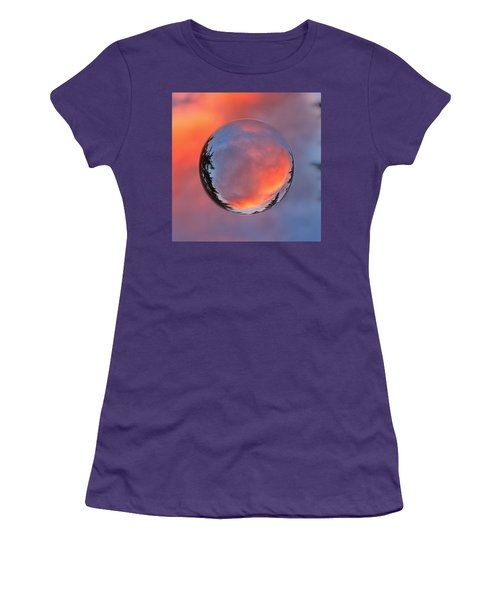 Sunset In A Marble Women's T-Shirt (Athletic Fit)