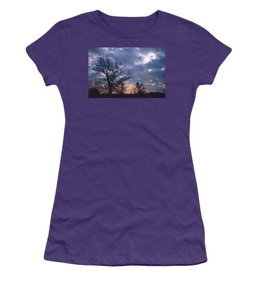 Oak In Sunset Women's T-Shirt (Athletic Fit)
