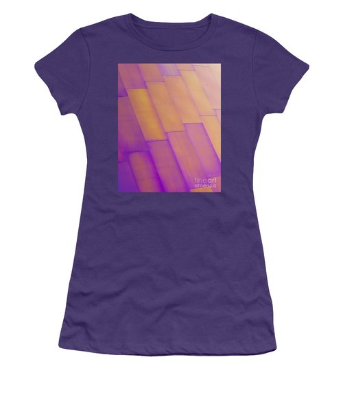 Purple Orange I Women's T-Shirt (Athletic Fit)
