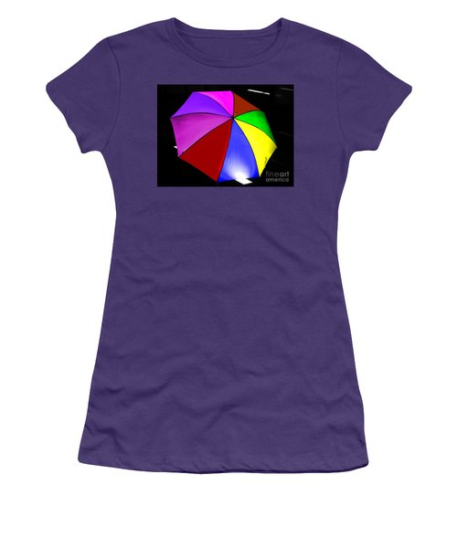 Women's T-Shirt (Junior Cut) featuring the photograph Umbrella by Blair Stuart