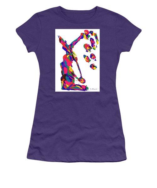 Definism Grind Women's T-Shirt (Junior Cut) by Darrell Black