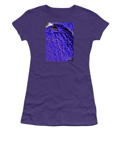 Purple Pumpkin By Jasna Gopic  Women's T-Shirt (Junior Cut)