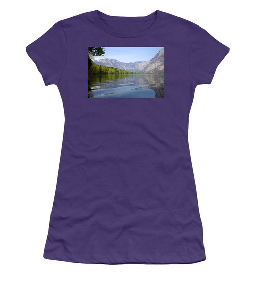 Women's T-Shirt (Junior Cut) featuring the photograph Alpine Clarity by Ian Middleton