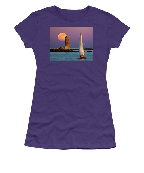 Women's T-Shirt (Junior Cut) featuring the photograph Arise  by Larry Landolfi