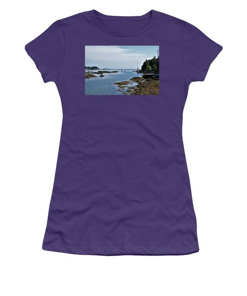 Coastal Maine Women's T-Shirt (Junior Cut)
