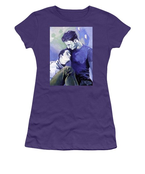 Cradle My Heavy Heart Women's T-Shirt (Athletic Fit)