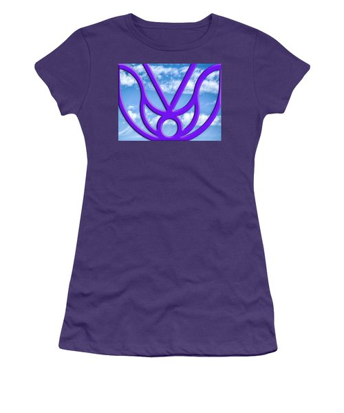 Women's T-Shirt (Athletic Fit) featuring the photograph Outside My Window by Paul Wear