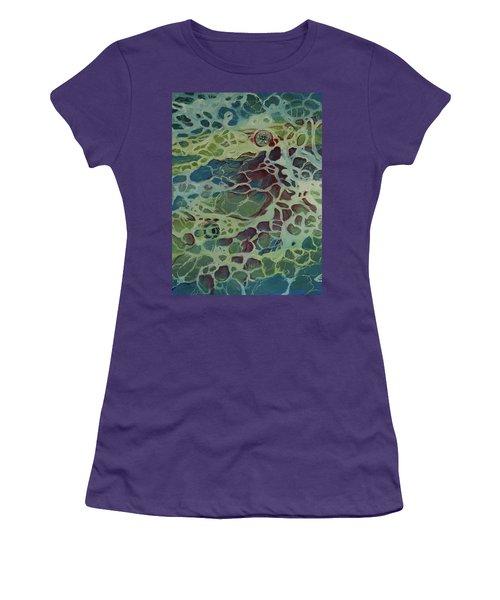 Sea Foam Women's T-Shirt (Junior Cut)