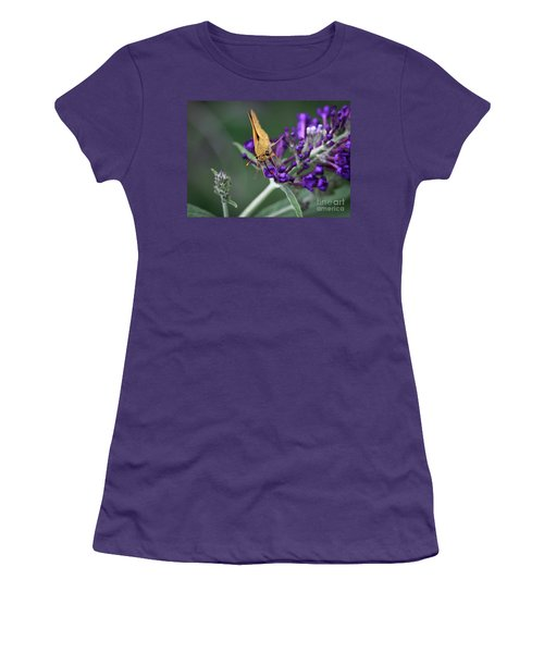 Women's T-Shirt (Athletic Fit) featuring the photograph Skipper by Douglas Stucky