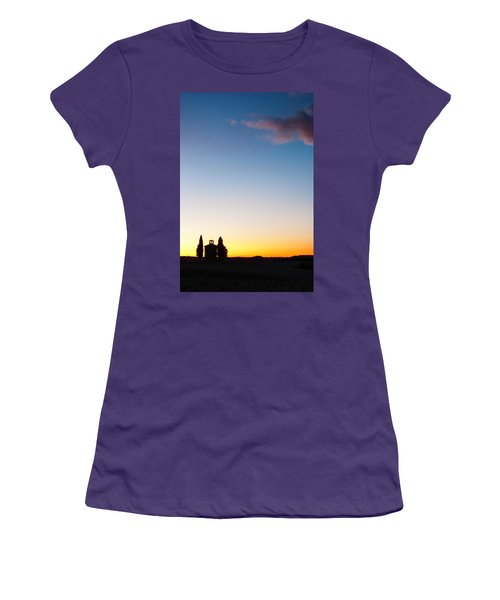 Vitaleta Chapel Women's T-Shirt (Athletic Fit)