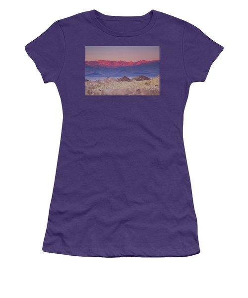 Zabriskie Sunrise Women's T-Shirt (Athletic Fit)