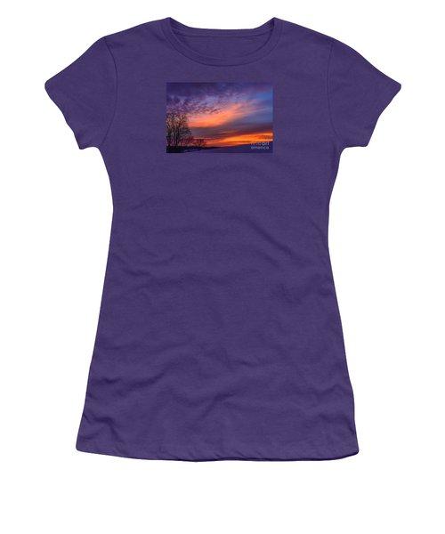 Dawn Of The Day Women's T-Shirt (Junior Cut) by Thomas R Fletcher