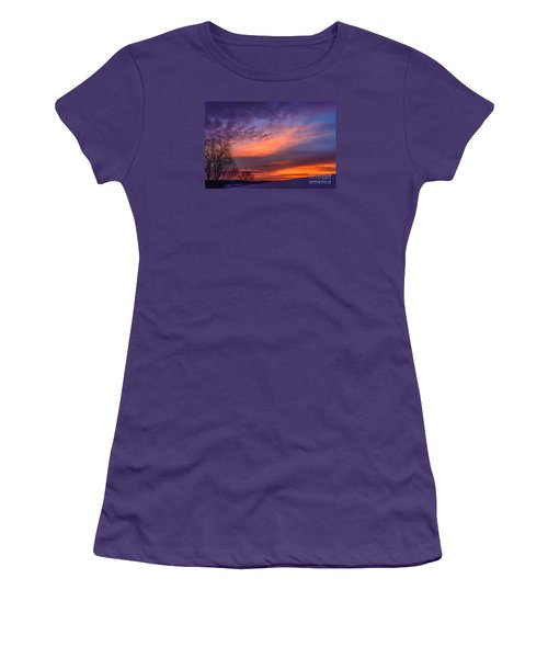 Dawn Of The Day Women's T-Shirt (Athletic Fit)