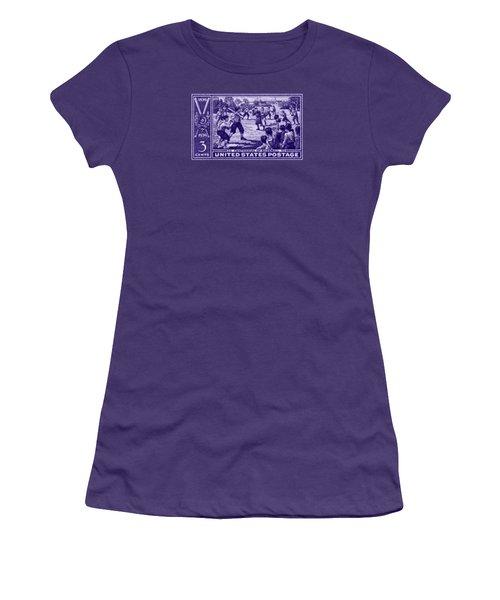 1939 Baseball Centennial Women's T-Shirt (Athletic Fit)