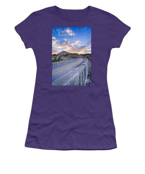 Donner Memorial Bridge Women's T-Shirt (Athletic Fit)