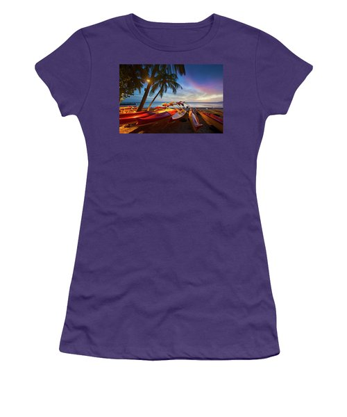 Evening Falls Women's T-Shirt (Junior Cut)
