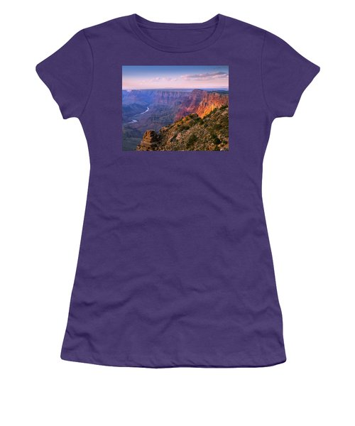 Canyon Glow Women's T-Shirt (Athletic Fit)