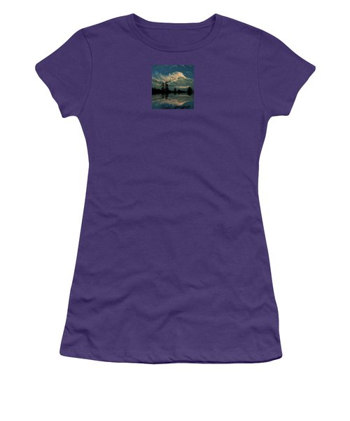 Women's T-Shirt (Junior Cut) featuring the photograph 4395 by Peter Holme III