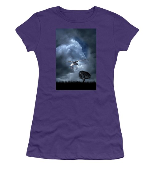 Women's T-Shirt (Athletic Fit) featuring the photograph 4472 by Peter Holme III