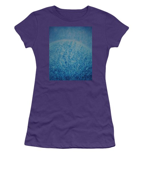 Women's T-Shirt (Junior Cut) featuring the painting Calm Mind by Kyung Hee Hogg
