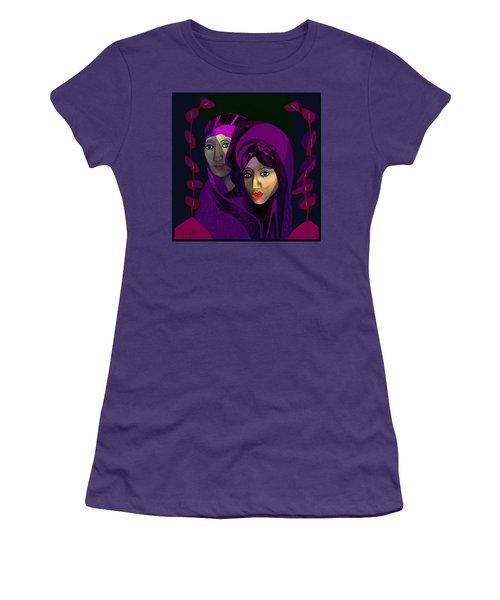 794 - Solemn Portrait Women's T-Shirt (Athletic Fit)