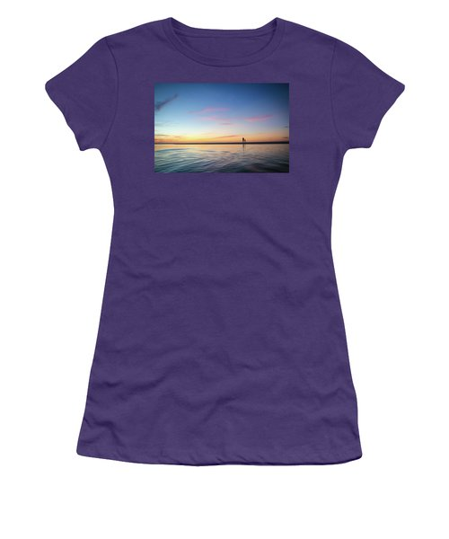 A Twilight Beach Walk Women's T-Shirt (Athletic Fit)