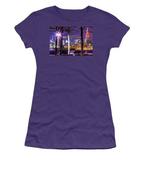 A View To Behold Women's T-Shirt (Junior Cut) by Az Jackson