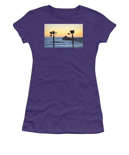 Women's T-Shirt (Athletic Fit) featuring the photograph A Warmer Place To Be by AJ Schibig