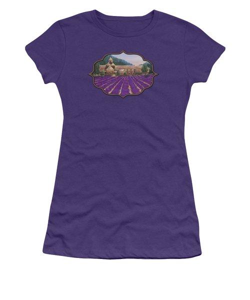 Abbaye Notre-dame De Senanque Women's T-Shirt (Athletic Fit)