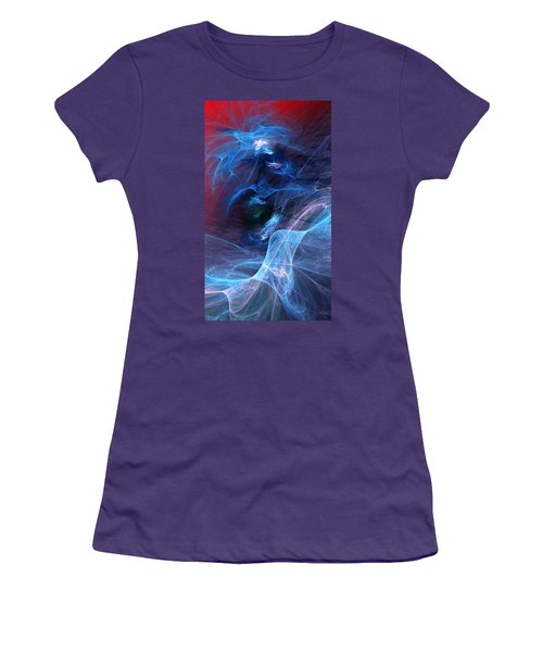 Abstract 111610 Women's T-Shirt (Athletic Fit)