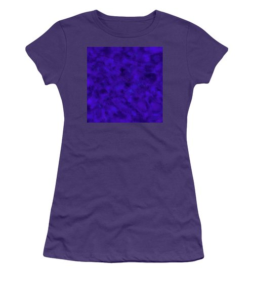 Women's T-Shirt (Athletic Fit) featuring the photograph Abstract Purple 7 by Clare Bambers