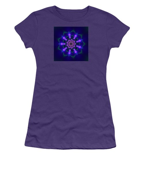 Ahau 9.1 Women's T-Shirt (Junior Cut) by Robert Thalmeier