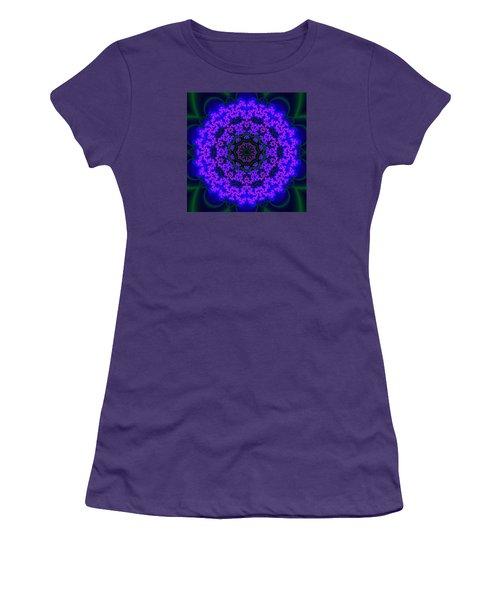 Women's T-Shirt (Junior Cut) featuring the digital art Akbal 9 .4 by Robert Thalmeier