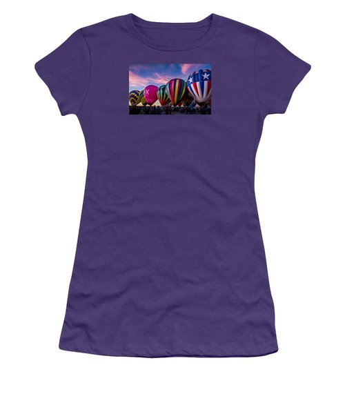 Albuquerque Hot Air Balloon Fiesta Women's T-Shirt (Athletic Fit)