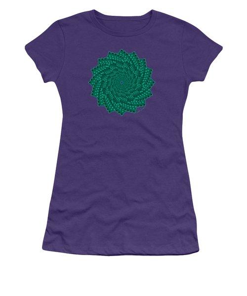Alligator-dragon Tail Women's T-Shirt (Junior Cut) by Heather Schaefer