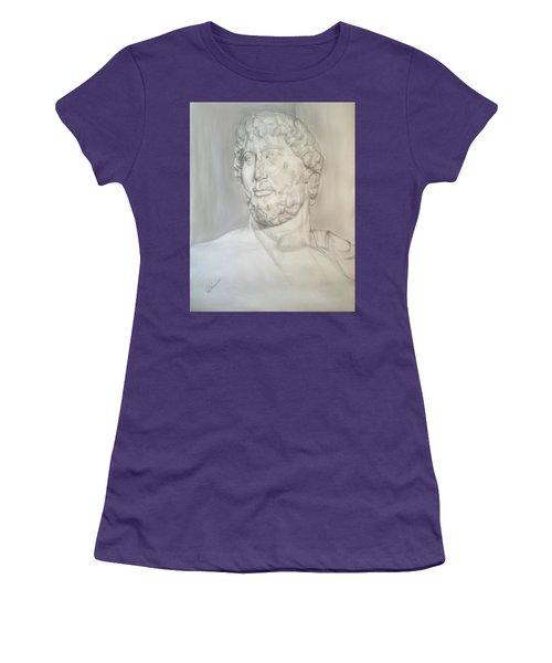 Ancient Greek Statue Women's T-Shirt (Athletic Fit)