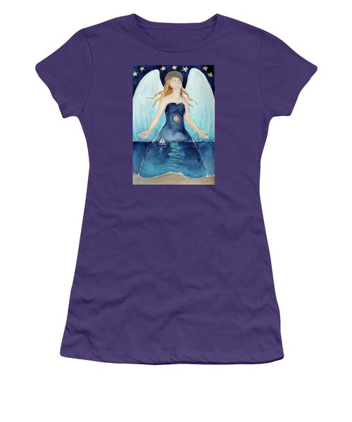 Angel Of Transcendence Women's T-Shirt (Athletic Fit)