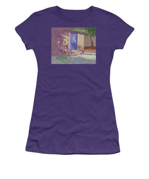 Backyard Shadows Women's T-Shirt (Athletic Fit)