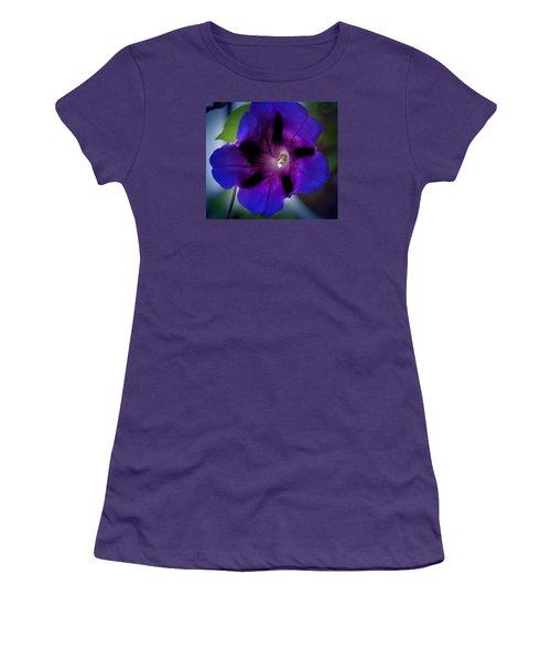 Beauty In Blue Women's T-Shirt (Junior Cut) by Milena Ilieva